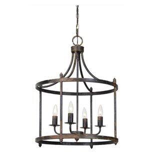 Frimunt 4-Light Lantern Chandelier by Cha..