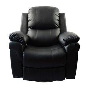 MCombo Vibrating Swivel Reclining Massage Chair with Heated Lounge