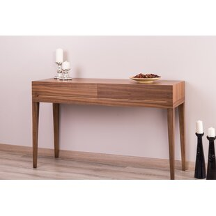 Brayden Studio Pilning Walnut Console Table