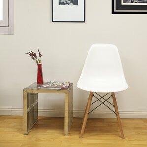 Paris Tower Solid Wood Dining Chair (Set Of 2)