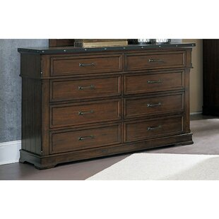 Buy luxury Puckett 8 Drawer Double Dresser by Loon Peak