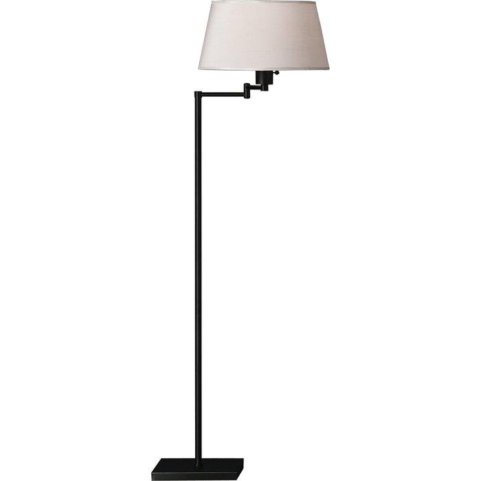 Real Simple 55 5 Swing Arm Floor Lamp