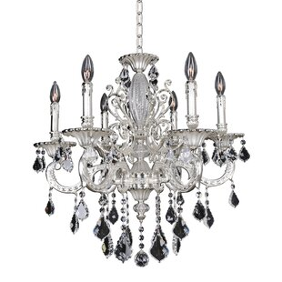 Allegri by Kalco Lighting Casella 6-Light Candle Style Chandelier