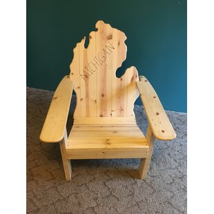 Andish Classic Michigan Solid Wood Adirondack Chair