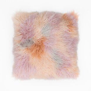 Brandes Faux Fur Throw Pillow