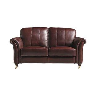Nightsbridge Leather 2 Seater Sofa By Rosalind Wheeler
