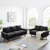 2 Piece Standard Living Room Set by Keeplus