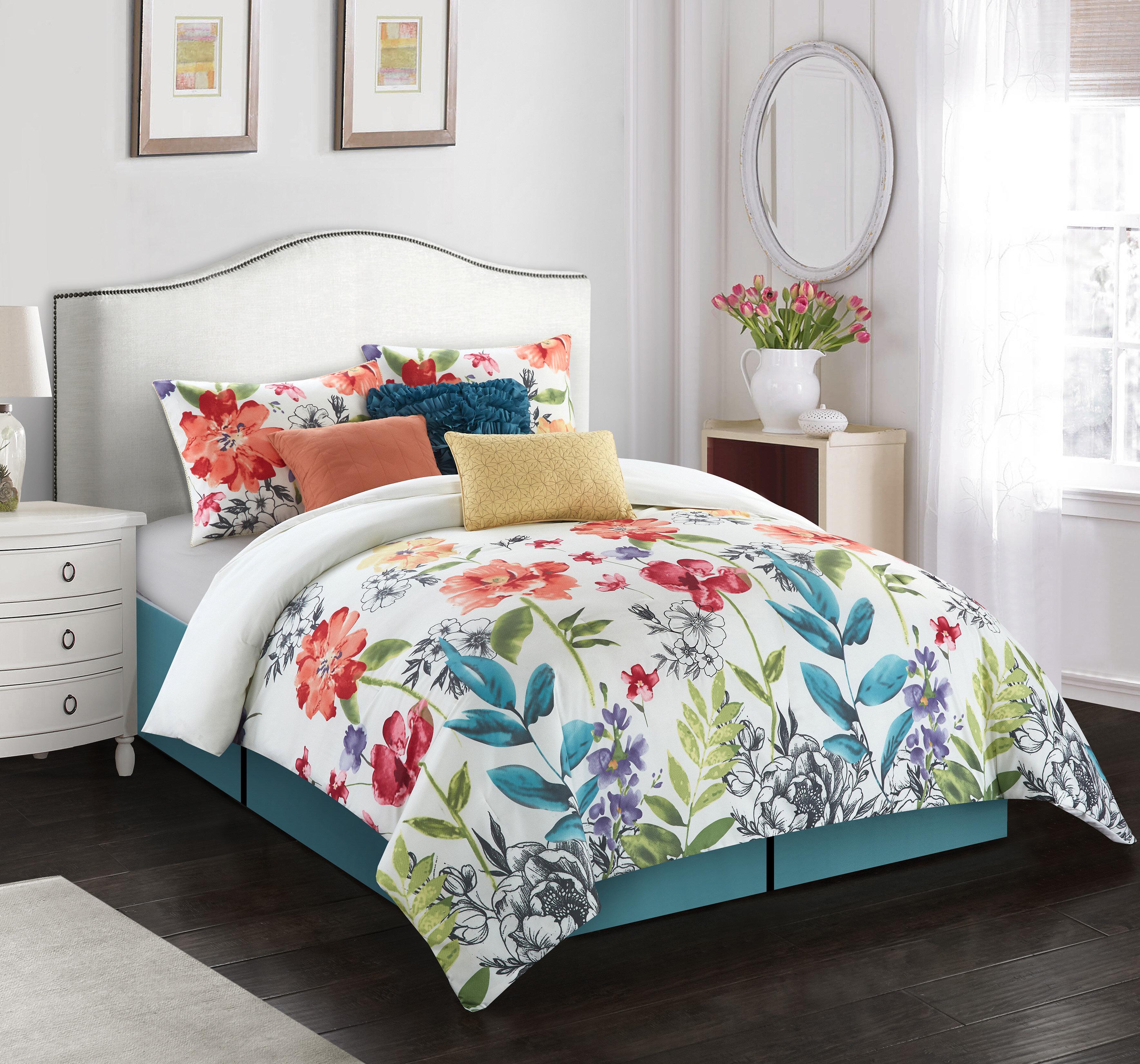 Green Comforters Free Shipping Over 35 Wayfair