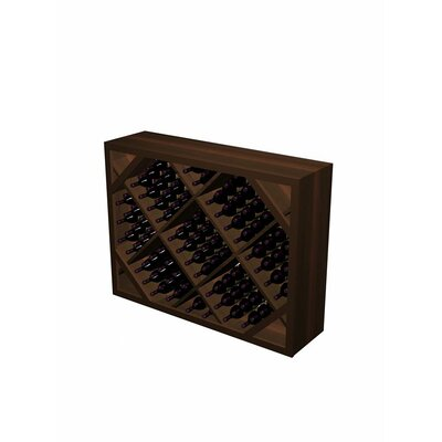 Wine Cellar Innovations Designer Series 132 Bottle Floor Wine Rack Wood Type: Rustic Pine, Finish: Unstained