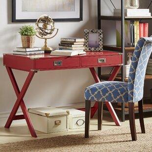 Dark Cherry Writing Desk | Wayfair