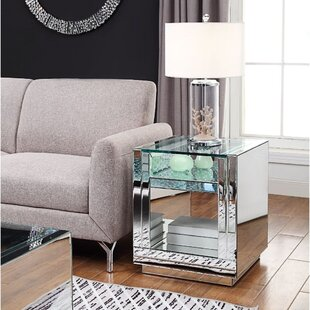 Pedestal Base Square End Side Tables You Ll Love In 2021 Wayfair