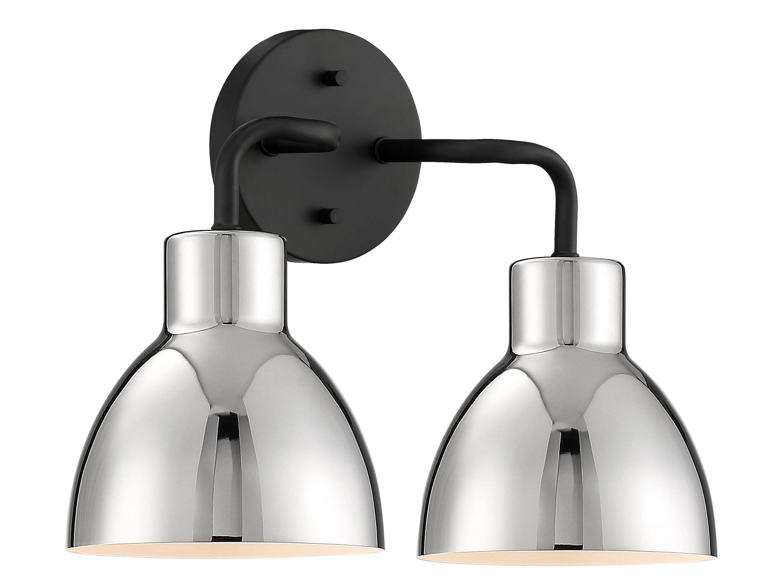 Wrought Studio Behn 2 Light Dimmable Vanity Light Reviews Wayfair