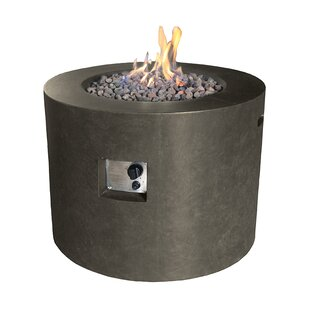 Marable Concrete Propane Fire Pit Image