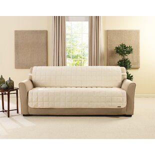 Deluxe Box Cushion Sofa Slipcover