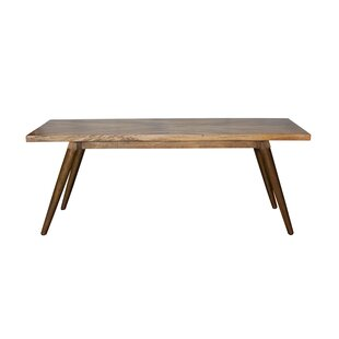 Union Rustic Glaucia Solid Wood Dining Ta..