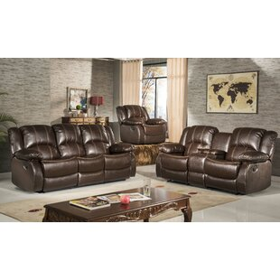 Three Posts Okelley Reclining 2 Piece Living Room Set