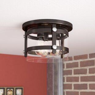 Best Price Daniel 3-Light Flush Mount By Trent Austin Design