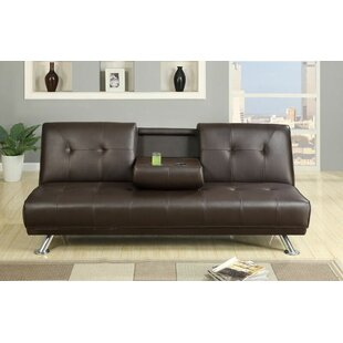 Maloney Adjustable Sofa with Built-in Console