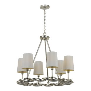 Brayden Studio Templeman 6-Light Shaded Chandelier