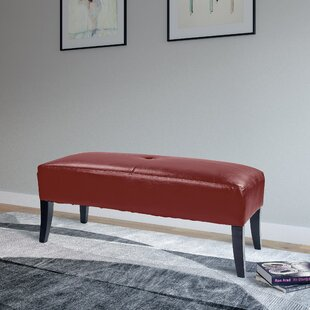 Cummingham Upholstered Bench by Red Barrel Studio