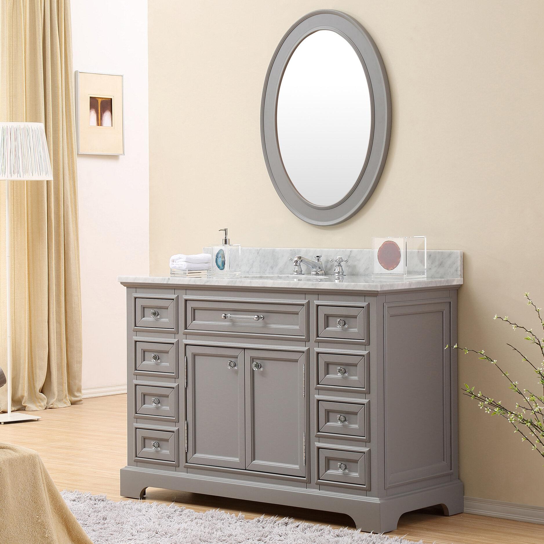 ayawovi 48 single sink bathroom vanity set reviews joss main