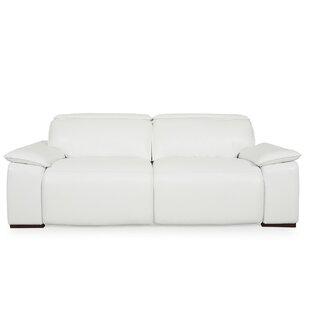 Orren Ellis Atilla Top Grain Motorized Sofa