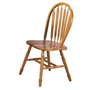 Lockwood Arrow Back Solid Wood Dining Chair (Set of 2)
