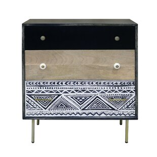 Pepperell 3 Drawer Chest By Bloomsbury Market