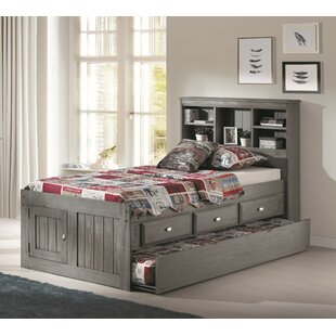 Bargain Wash Twin Mate's & Captain's Bed with Drawers and Trundle by Three Posts Reviews (2019) & Buyer's Guide