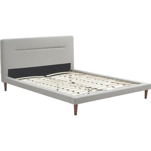 Sierra Upholstered Platform Bed by Serta at Home
