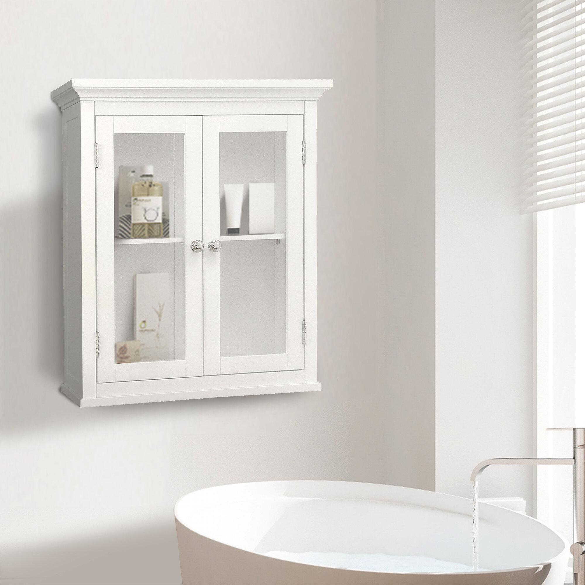 Beachcrest Home Sumter 20 W X 24 H X 7 D Wall Mounted Bathroom Cabinet Reviews Wayfair