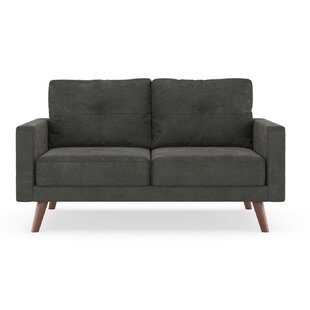 Shop For Courtney Microsuede Loveseat by Foundry Select Reviews (2019) & Buyer's Guide