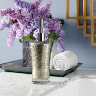 Willa Arlo Interiors Westley Mercury Fusion Glass Soap Dispenser
