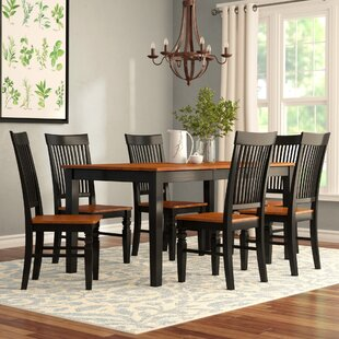 Pillar 7 Piece Extendable Breakfast Nook Dining Set by August Grove
