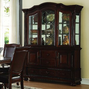 kitchen hutch cabinet. Elford China Cabinet Dining Hutches You ll Love  Wayfair