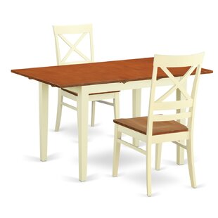 Wooden Importers Norfolk 3 Piece Dining Set