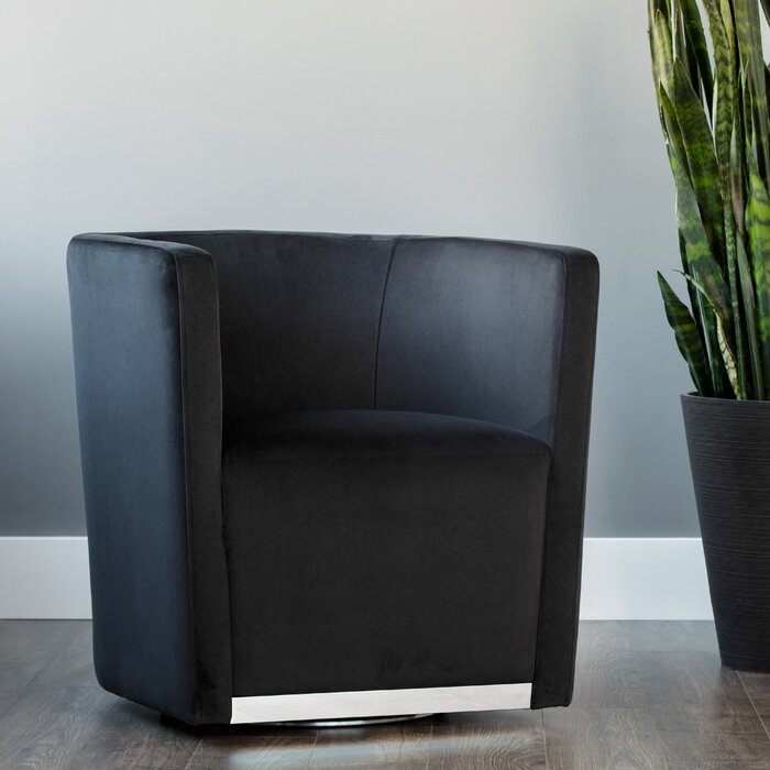 Surprising Queenie Swivel Barrel Chair Theyellowbook Wood Chair Design Ideas Theyellowbookinfo