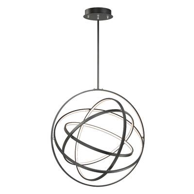 Modern Forms Kinetic 1 Light Led Globe Chandelier