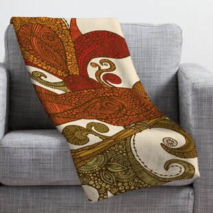 Deny Designs Andi Bird Waz Up Fleece Throw Blanket 60 x 80