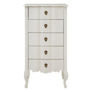 Aimee 5 Drawer Chest By Lily Manor