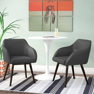 Ensminger Upholstered Dining Chair (Set of 2) Wrought Studio