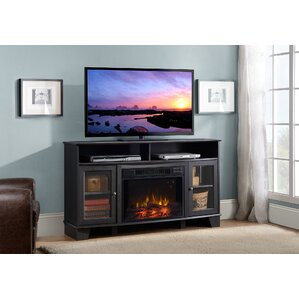 Wilson Media Electric Fireplace TV Stand by Homestar