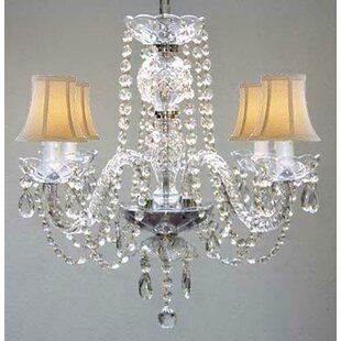 Loera 4-Light Shaded Chandelier by Astoria Grand