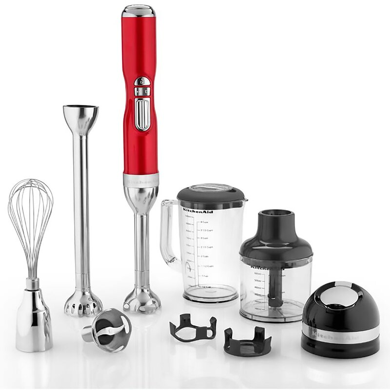 Kitchenaid 5 Speed Blender kitchenaid pro line 5-speed cordless hand blender & reviews | wayfair
