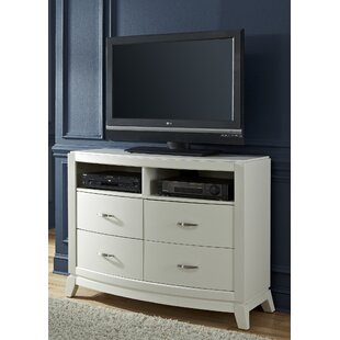 Loveryk II 4 Drawer Media Chest Darby Home Co