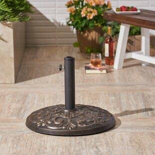 Murdock Outdoor Concrete Free Standing Umbrella Base by Charlton Home Fresh