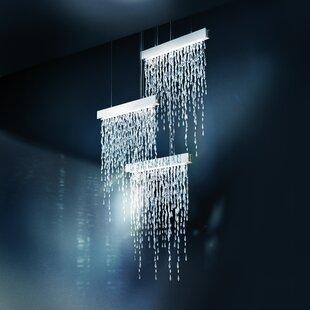 Swarovski Crystalline Icicles 15-Light Crystal Chandelier