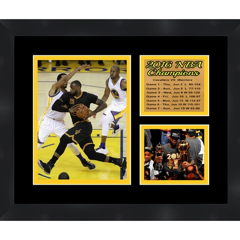 Frames By Mail Cleveland Cavaliers \'2016 NBA Champions LeBron James ...