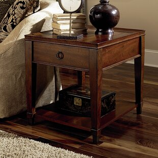 Millwood Pines Langer End Table with Storage