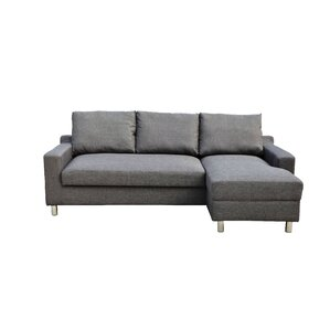 Lainey Sectional Sofabed Grey-Right Facing  sc 1 st  Wayfair.com : chaise sofa beds - Sectionals, Sofas & Couches